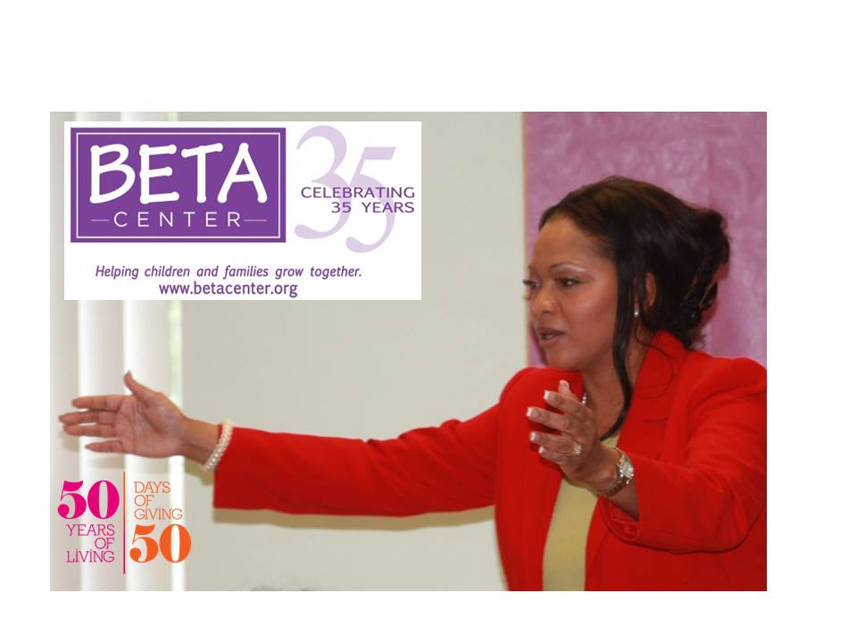 Dr. McCauley kicks off her 50 Days of Giving for 50 Years of Living Campaign at the BETA Teen Center